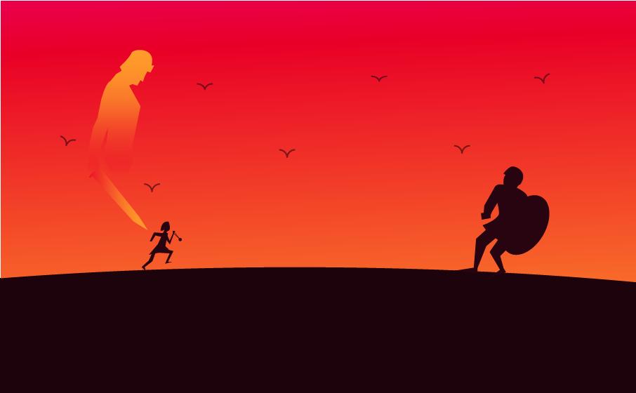 David and Goliath 556-01